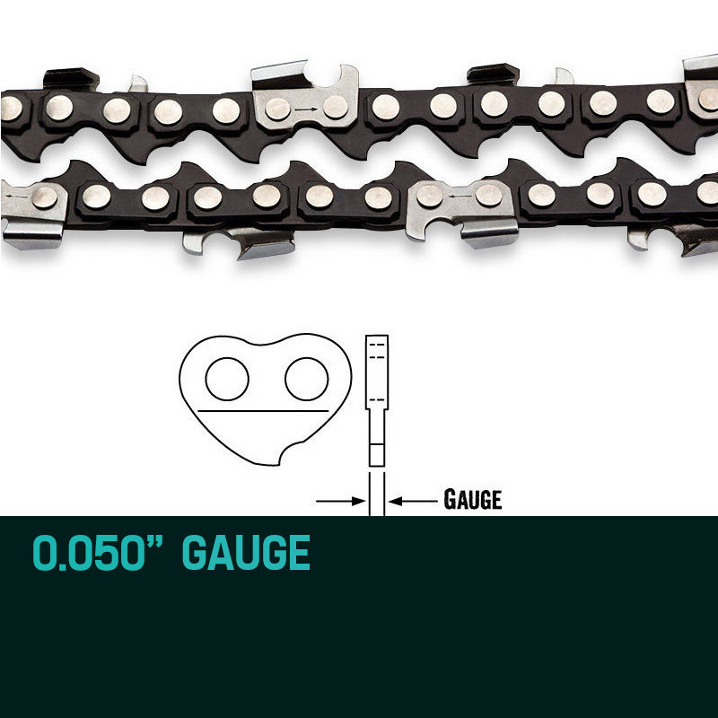 """Baumr-AG 10"""" Premium 3/8"""" Pitch Commercial Chainsaw Chain Replacement by Baumr-AG"""