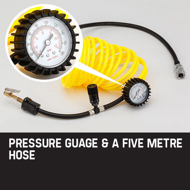 OUTBAC Portable Air Compressor 100PSI 12V 300L Tyre Deflator - OTB700 by Outbac