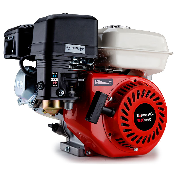 6.5HP Petrol Stationary Engine Motor 4-Stroke OHV Horizontal Shaft Recoil Start by Baumr-AG
