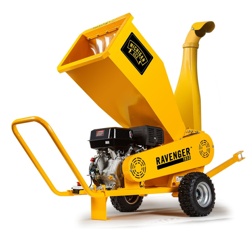 MICHIGAN 18HP 420cc Commercial Petrol Wood Chipper Mulcher - Ravenger						 by Michigan