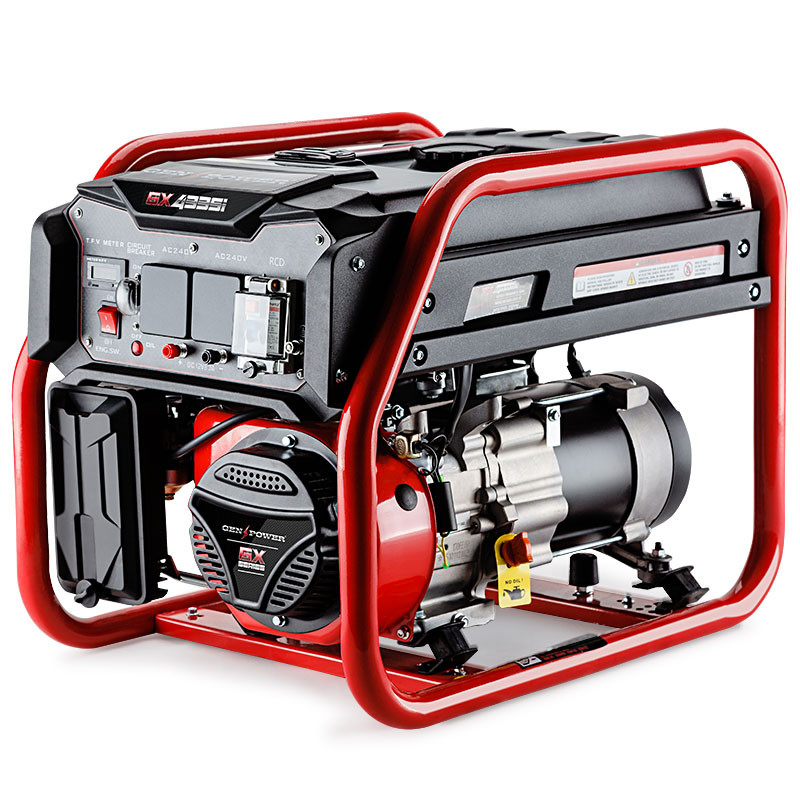 4,200W Single Phase Petrol Generator -GX4335i by GenPower