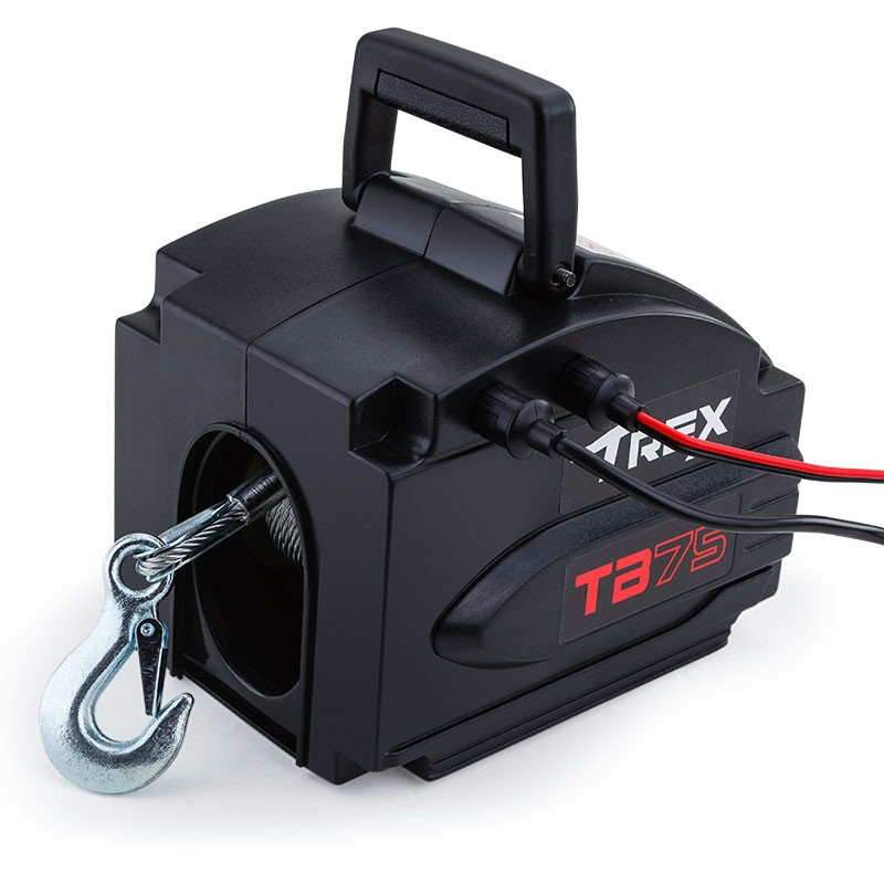 5000lbs Electric Boat Winch Shop T Rex Boat Winches