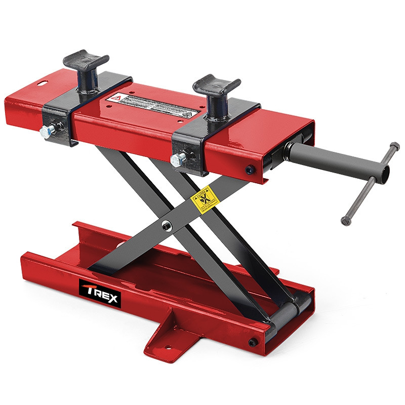 500kg Capacity Scissor Lift Motorcycle Jack Stand | Trex ...