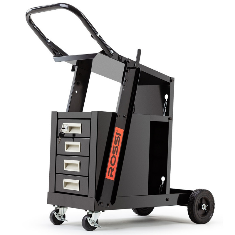 Welding Trolley With Drawers Shop Rossi Welding Carts