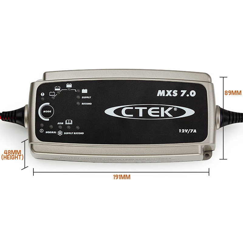 12v 7amp mxs 7 0 smart battery charger shop ctek products. Black Bedroom Furniture Sets. Home Design Ideas