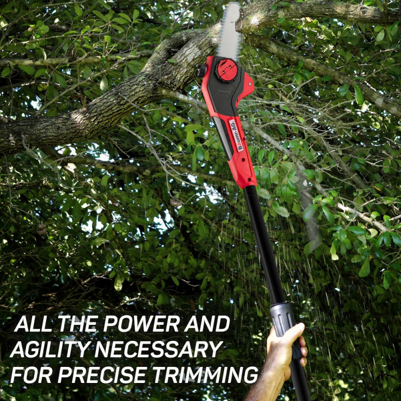 Baumr-AG 40V Pole Chainsaw Cordless Electric Lithium Saw Garden Pruner Battery by Baumr-AG