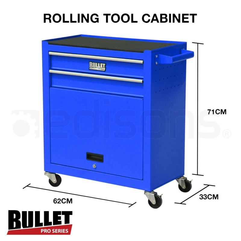 Blue 622 Piece Box Chest Cabinet Tool Kit Set  by Bullet Pro