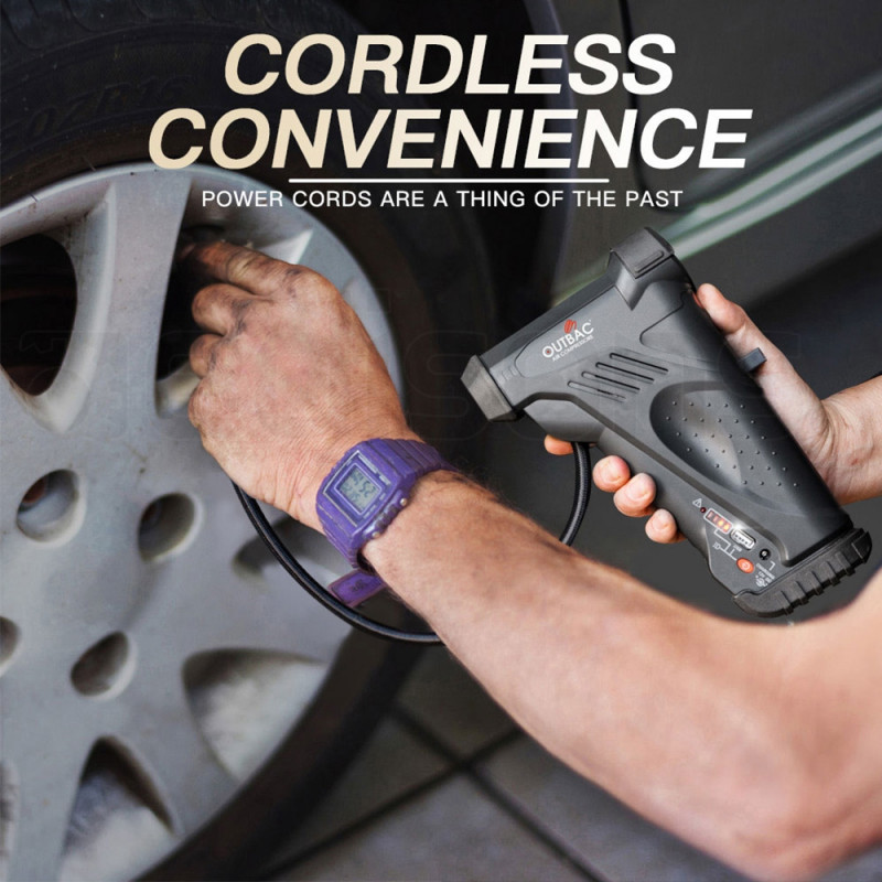 OUTBAC Cordless Portable Air Compressor 12V Tyre Inflator - OTB300 by Outbac