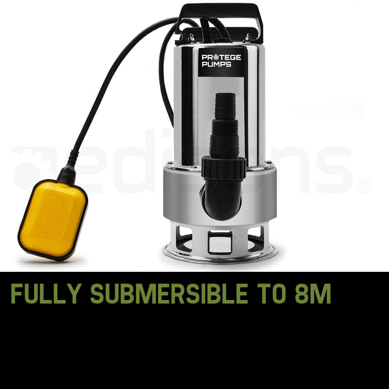Protege 2000W Dirty Water Submersible Pump- PRD-M6 by Protege