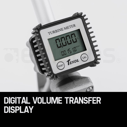 12V DC Electric Bowser Transfer Pump Diesel Oil Fuel Portable by Texoil