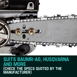 "Baumr-AG 24"" Tru-Sharp 3/8"" Pitch Chainsaw Chains by Baumr-AG"