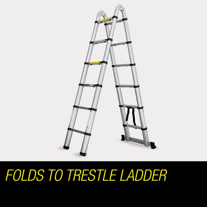 3 8m Alloy Multipurpose Folding Ladder Shop Bullet Ladders