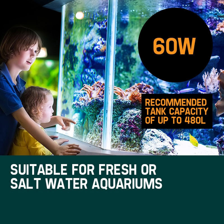 PROTEGE Aquarium External Canister Filter Aqua Fish Tank Multi Stage Pond Pump UV Light by Protege