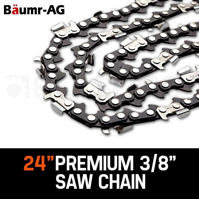 "Baumr-AG 24"" Tru-Sharp 3/8"" Pitch Chainsaw Chains by Baumr-AG"