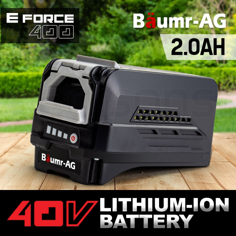 Baumr-AG 40V 2.0Ah Lithium-Ion Battery - E-Force 400 Series by Baumr-AG