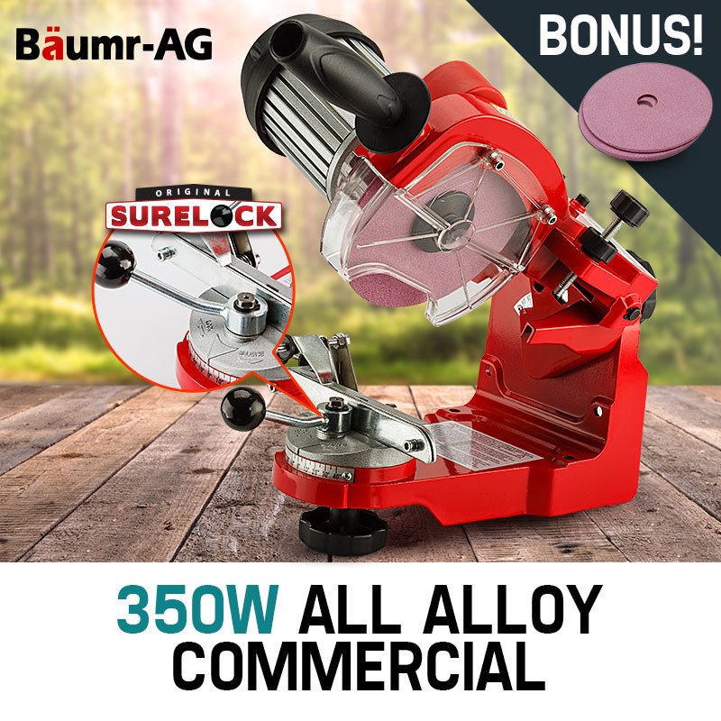 Baumr-AG 350W Pro-Series All Alloy Chainsaw Sharpener by Baumr-AG