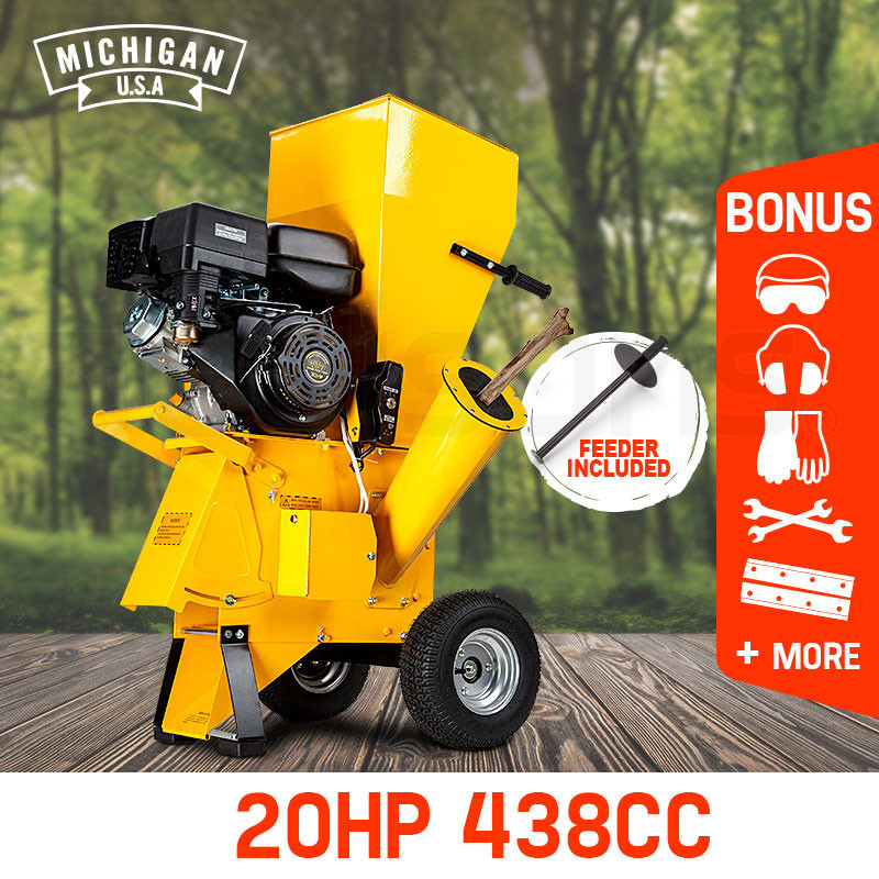 20hp Wood Chippers Shop Michigan Usa Wood Chippers Edisons