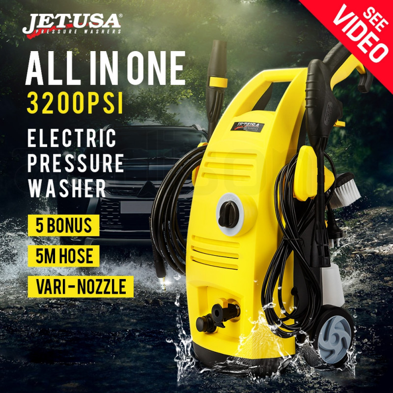 Jet-USA 3200PSI High Pressure Electric Pressure Washer - RX525 by Jet-USA