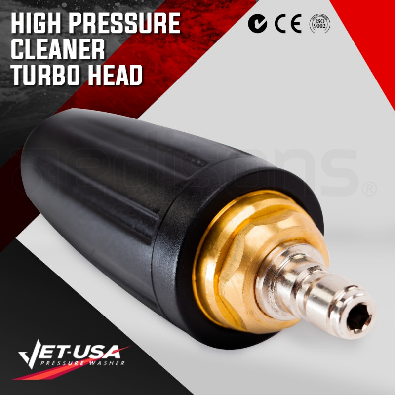 JET-USA 5000PSI Turbo Head Nozzle for High Pressure Washer Cleaner by Jet-USA