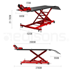 T-REX Hydraulic Motorcycle Lifter Motorbike Lift Stand Table Jack Hoist Bike by T-Rex