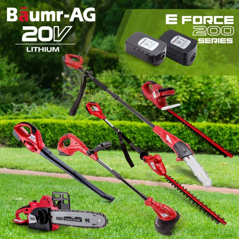 Baumr-AG 20V 2in1 Cordless Pole Tool - E-FORCE 200 Series by Baumr-AG