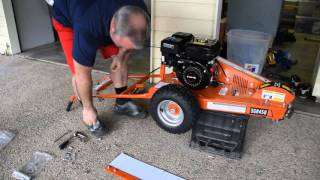 Baumr-AG SGR450 Mini Portable Stump Grinder Review and Unboxing
